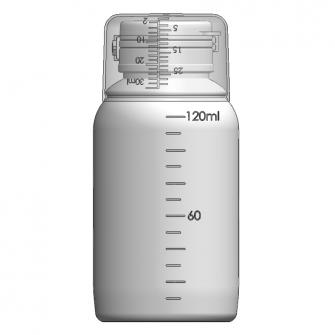 AOC-120J 感冒糖漿瓶