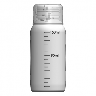 AOC-150 感冒糖漿瓶