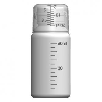 AOC-60J 感冒糖漿瓶