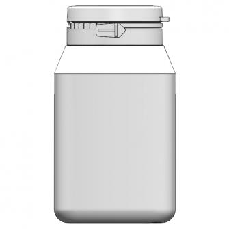 BIO-150 方形原封掀蓋瓶