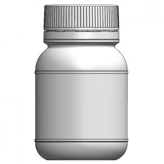 BOK-125 圓形原封旋蓋瓶
