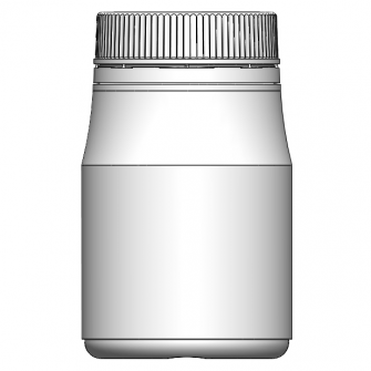 BOK-255 圓形原封旋蓋瓶